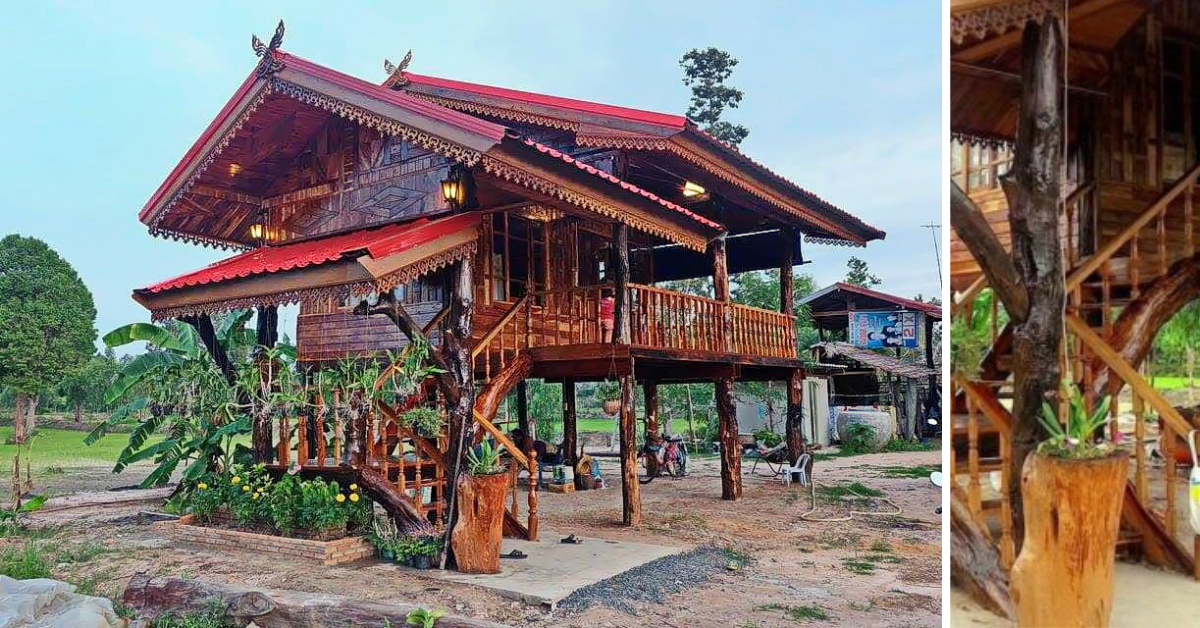 Log Home Plan – Traditional but Trendy and Cool - Pinoy House Designs