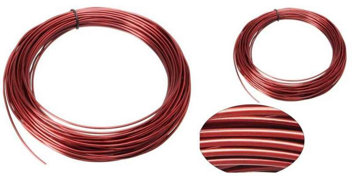 Xinyu Eanemeld Aluminum Wire VS Enameled Copper Wire